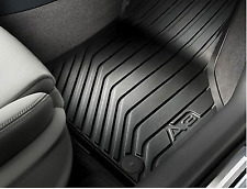 Genuine Audi A3 2013>on Front Rubber Protection Waterproof Mats - 8V2061501041