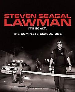 Steven Seagal Lawman Series One Season 1 DVD (2 DISC) OVER 5 HOURS - REGION 1