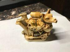 Harmony Kingdom Wolfie In Space Wolf Trinket Box Figurine