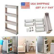 US STOCK Moving Rack Kitchen Storage Shelf Wall Cabinets