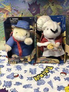 Lot Of 2 Gemmy Singing Dancing Hamsters Giuseppe & Luigi