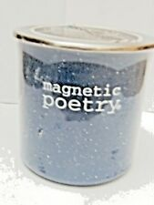 "Mugnetic Poetry Mug - ""Coffee"" Oriented words - Vintage"