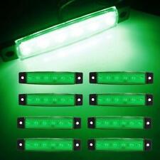 8Pcs Green For JEEP ATV Truck Offroad UTV LED Rock Light Fender Under Body Light