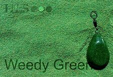 Erbacce Verde Jig Testa / Guida Plastica Rivestimento Polvere Hls Pesca Carpa [