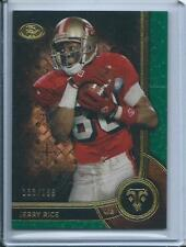 2015 Jerry Rice Topps Triple Threads EMERALD GREEN /199 San Francisco 49ers