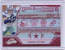Jason Witten 2008 Absolute Tools of the Trade RED Spectrum Ser#d 010/100 Cowboys