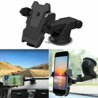 360°Car Holder Windshield Mount Bracket for Mobile Cell Phone iPhone Samsung-GPS