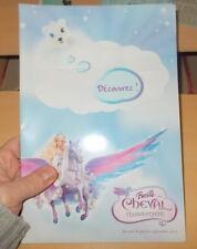 POUPEE BARBIE BARBIE ET LE CHEVAL MAGIQUE DOSSIER DE PRESSE SEPTEMBRE 2005 + DVD