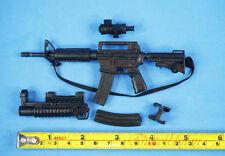 1:6 Scale Action Figure M4 Carbine RIFLE SOPMOD M203 Grenade Launcher K1191