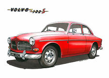 Volvo Amazon 122S Greeting Card A5 size
