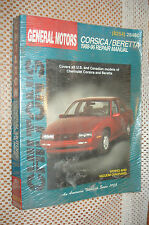 1988-1996 CHEVY CORSICA BERETTA CHILTONS SHOP MANUAL SERVICE BOOK 95 94 91 90 89
