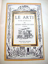 1939 HENDRIK WILLELM VAN LOON 'LE ARTI' ILLUSTRATISSIMO