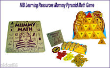 Brand New Learning Resources Mummy Pyramid Addition and Subtraction Math Game