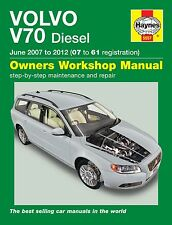 Haynes Manual 5557 Volvo V70 D3 D5 1.6D 2.0D 2.4D SE Diesel Jun 2007-2012