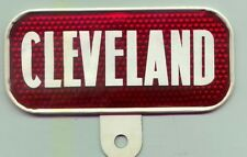 """Vintage """"CLEVELAND"""" rear Bicycle reflector 678A"""