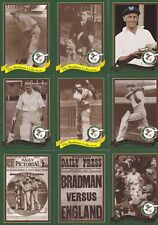 CRICKET WEET-BIX The BRADMAN COLLECTION 20 card set