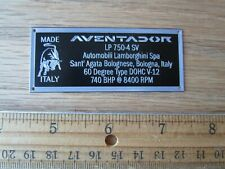 Lamborghini Aventador LP 750-4 Sv Affichage Plaque 1/24 1/18 1/43 Autoart Apm