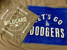 Dodgers 2021 Nl Wild Card Rally Towel Amp Handkerchief Sga Set Vs Cardinals 106