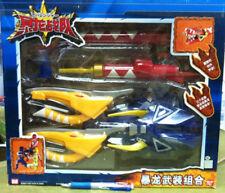 Power Rangers Dino Thunder -  Z-Rex Blaster Gun 3 weapons complete set