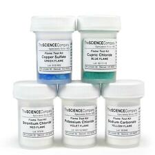 NC-12053  Flame Test Chemical Kit, Flame color
