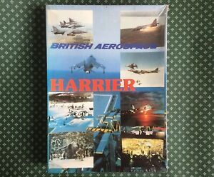 British Aerospace The Harrier RAF Jigsaw Puzzle Vintage Hawker Plane - 2000