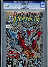 Deathlok Issue #1 CGC 9.4 NM 1991 Marvel Comics 1st Deathlok Amricons K26