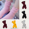 Kids Toddler Baby Girls Warm Cotton Stockings Leggings Pants Knee High Socks New