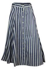 Denim Regular Size Casual Skirts for Women