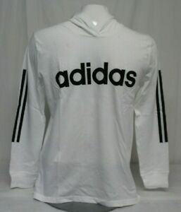*NEW* Adidas Boy's Pullover Hooded Long Sleeves Shirt