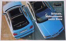 Article Articolo 1994 BMW 316i COMPACT INDIVIDUAL SERIE 3 E36