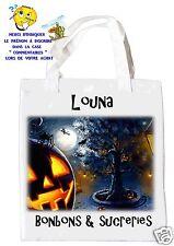 sac à bonbons halloween shopping sac à cadeaux  réf 12