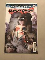 HARLEY QUINN #7 BILL SIENKIEWICZ VARIANT COVER 2017 batman joker amanda conner