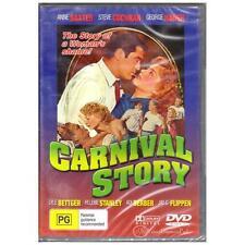 DVD Carnival Story Baxter Cochran 1954 B&w Drama Romance All PAL Regions BNS