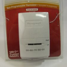 Honeywell Heat Only Thermostat Millivolt Systems Model CT53K Non-Programmable