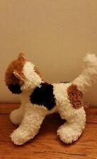 "Cat Calico Kitten Douglas Cuddle Toy 6"" stuffed plush bean bag solid white tail"