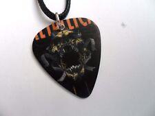 Metallica doble cara PUA/PLECTRO Cuero Collar Un