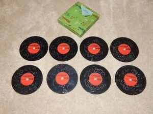 THORENS MUSIC DISC LOT 8 & BOX  CHILDREN NURSERY SONGS AD30