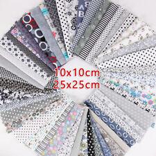 50Pcs Assorted Bundle Quilt Quilting Cotton Fabric Sewing DIY Set