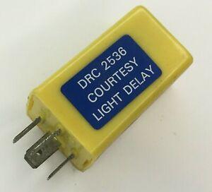 LOTUS ROVER SD1 DRC2536 RELAY YELLOW COURTESY LIGHT DELAY RELAY