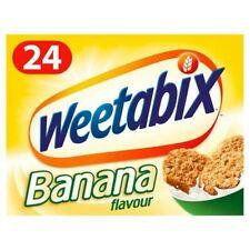 Weetabix Biscuits Banana Cereal 24 Pack X 2