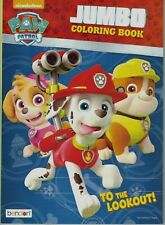 Paw Patrol Coloring Book, ~64 pages, Simple Coloring,  US Seller free ship
