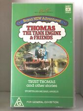 THOMAS THE TANK ENGINE & FRIENDS ~ TRUST THOMAS and OTHER STORIES ~ VHS VIDEO