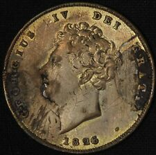 1826 One Shilling Great Britain King George IV - Free Shipping USA