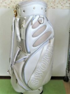 KATANA SWORD White CADDY STAFF BAG 3.98KG GOLF Goods INV 0