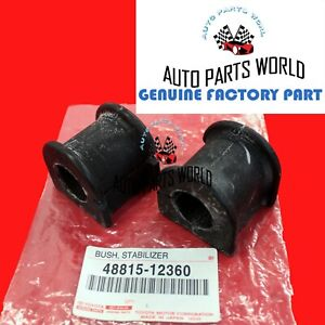 NEW GENUINE OEM TOYOTA 03-19 COROLLA MATRIX FRONT STABILIZER BAR BUSHING SET