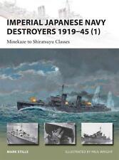 Osprey New Vanguard 198 Imperial Japanese Navy Destroyers 1919–1945 Midway NEU