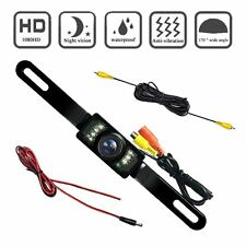 Rear view License Plate Car Rear Backup Parking Camera With 7 LED Night Vision