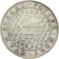 O3747 RARE R2 Jeton Louis XIV Etats Bretagne Hermine Argent Silver ->Faire offre