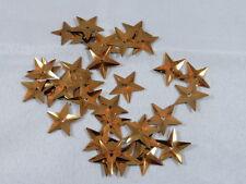 100 Sterne Streuelemente Streudeko Kartengestaltung Basteln Kupfer 15mm