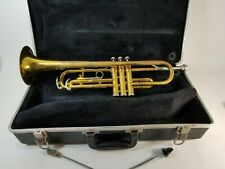King Tempo 600 Trumpet, Benge 7C Mouthpiece, With Case